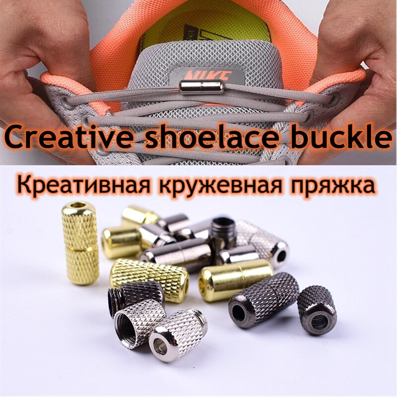 1 пара, металлические шнурки для обуви