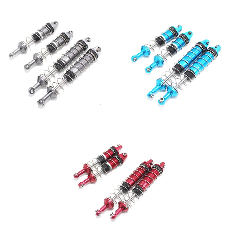 RC Diy Parts for WLtoys 12428 12429 12423 FY-03 Q39 Metal Shock Absorber Rc Car Upgrade Accessories enlarge