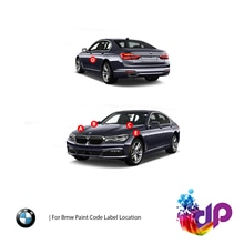 DrawndPaint for BMW Automotive Touch Up Paint - CLASSIC BLACK MET - 162 - Paint Scratch Repair, Exac
