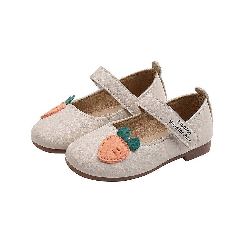 primavera outono outono outono criancas meninas princesa sapatos sola macia cenoura