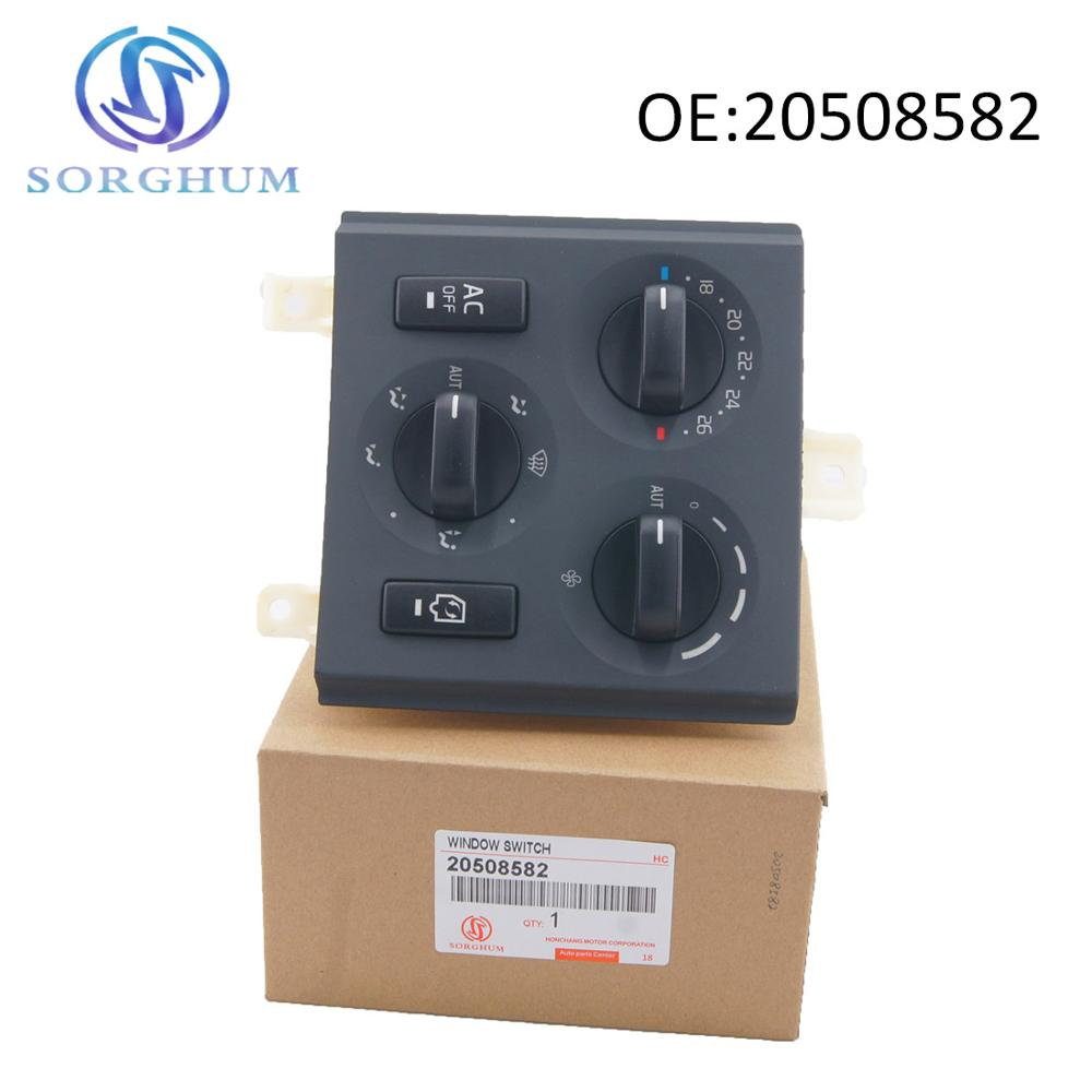Panel de interruptor de 24V de alta calidad 20508582 para Volvo Truck FH FM, interruptores combinados 85115380 20853478 21272395 21318123