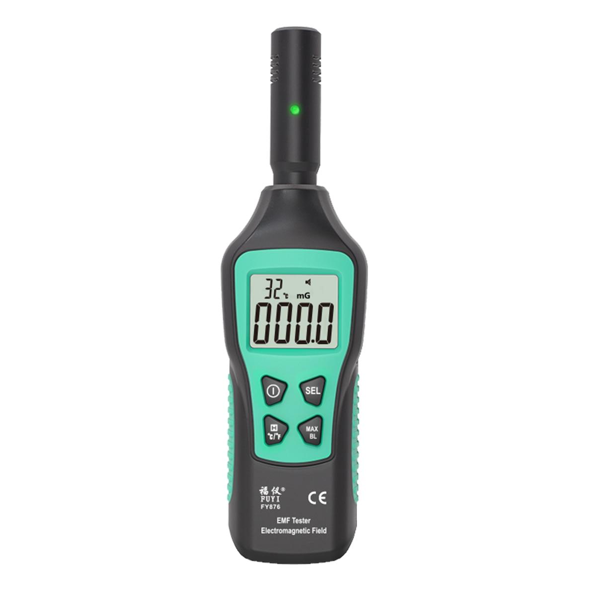 FUYI-كاشف الإشعاع الكهرومغناطيسي EMF ، مقياس الجرعات الإشعاعية المنزلي المحمول