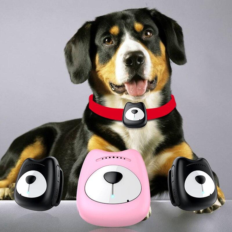 Трекер GPS для собак Смарт Водонепроницаемый мини часы с системой слежения GPS ошейник для собаки кошки положение питомца GPS трекер