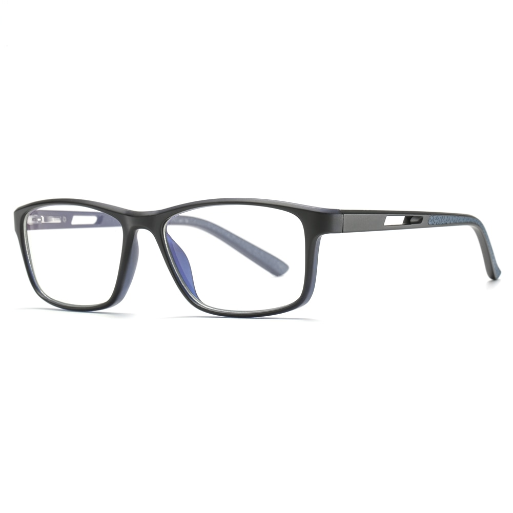 Gafas bloqueadas de luz azul, gafas rectangulares ópticas para miopía, gafas de prescripción, marco de gafas para ordenador, Marcos para mujeres y hombres
