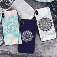 color mandala phone case for iphone 12 11 mini pro xs max 8 7 6 6s plus x 5s se 2020 xr
