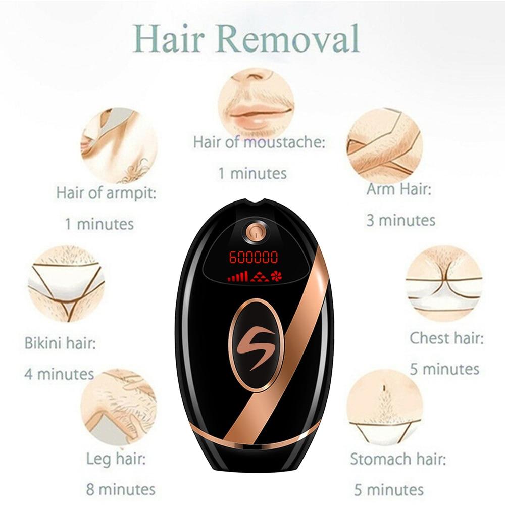 IPL Laser Epilator Permanent Photoepilator Hair Removal Painless electric Epilator facial body Laser Hair Removal for Women