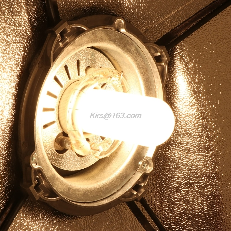220V-240V 250W JDD E27 lampe de poche Tube pour lumière LED Flash Studio Photo