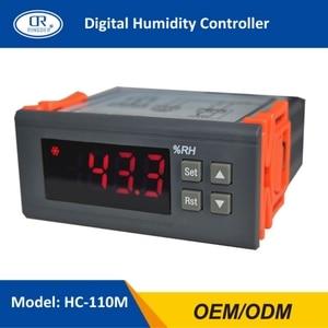 RINGDER HC-110M  Dehumidification and Humidification Universal Digital Humidity Controller Regulator Sensitive Switch