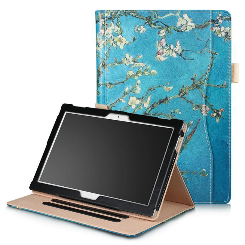 "Caso universal para lenovo tab 4 10 tb-x304 TB-X704 10.1   ""ímã suporte tablet capa funda para lenovo moto tab TB-X704A caso"