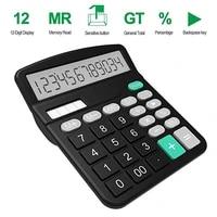 calculator desktop calculator office finance calculat plastic solar computer business finance office calculator 12 bit office