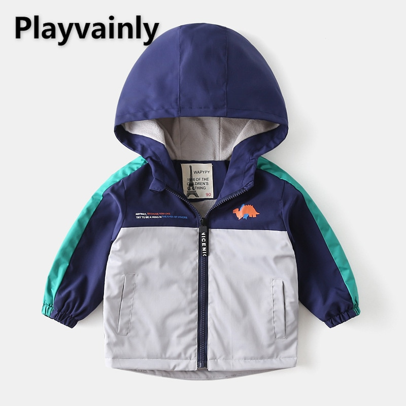 2021 New Boys Jackets Baby Coats Add wool Long Sleeve Casual Kids Jackets Coat for Boys Kids Clothes