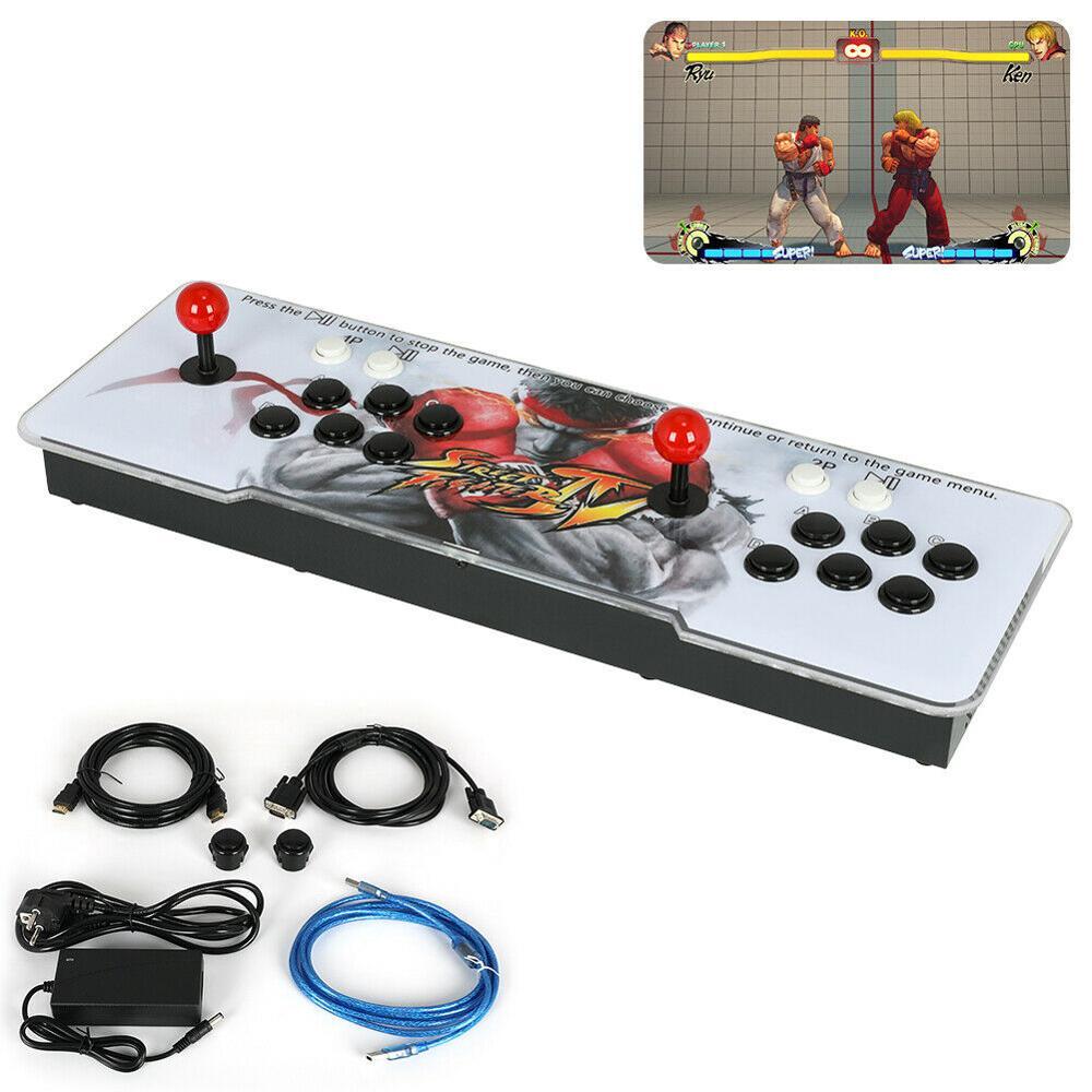 Pandora Box 9D 3399 (16 3D + 3383 2D) Juegos en 1 Retro videojuegos doble palo consola Arcade 1280*720P 2 jugadores