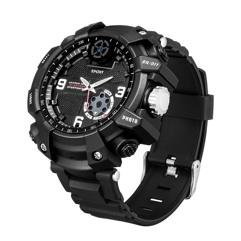 Promo FOX12 Mini Camera Smart Watch Cam Sport Ourdoor Action Watch WIFI Watching P2P Camera 2K H.264 64G Memory IP67 Waterproof DVR