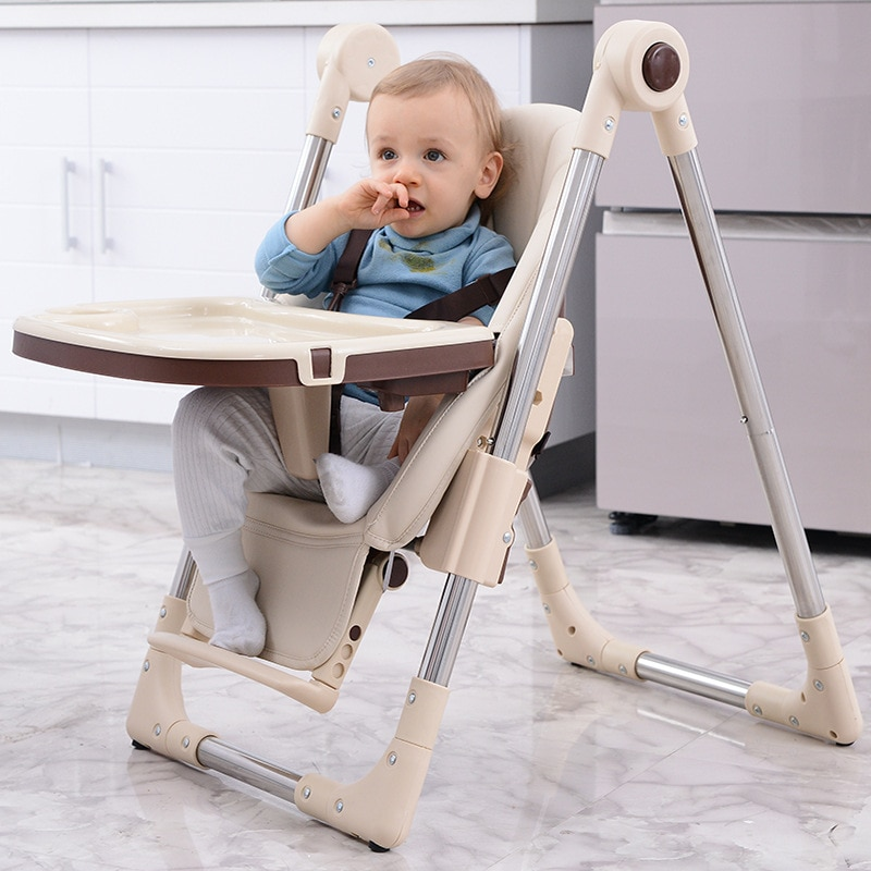 LazyChild Baby Dining Chair, Child Baby Chair, Eating Dining Table And Chair, Multifunctional Foldable Infant Seat