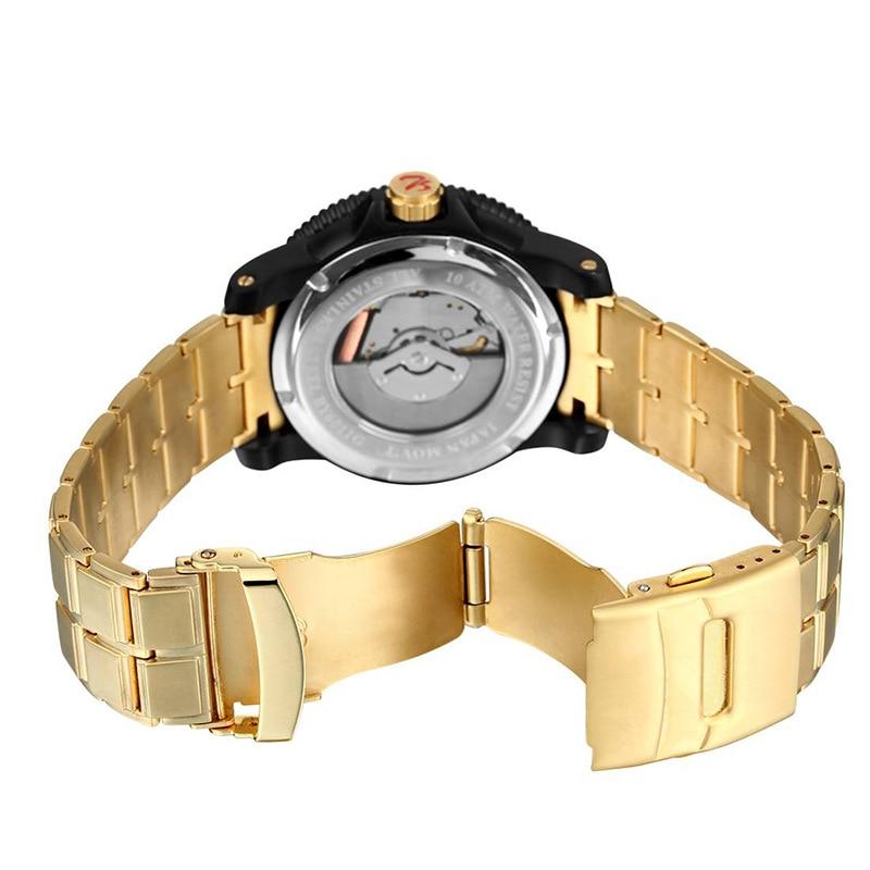 Stainless Steel Men Battery 50Meters Waterproof Luminous Watch High Quality With Box enlarge