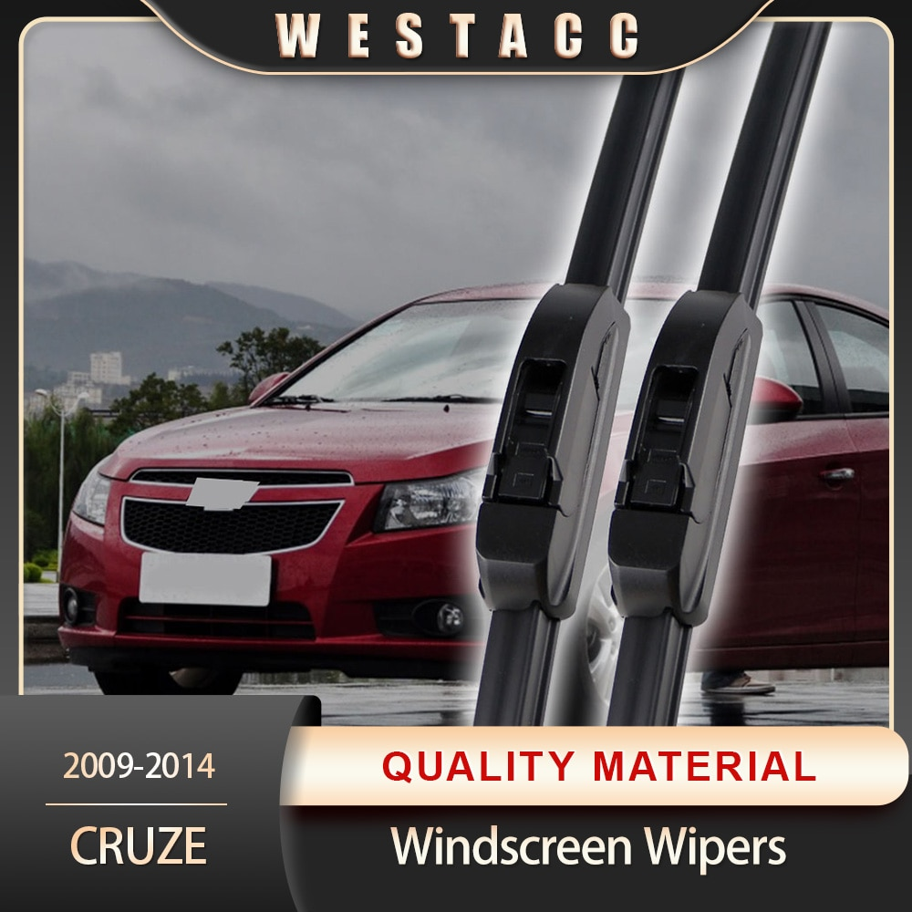 2Pcs Car Front Window Wiper Blades Windshield Wind Wipers for Chevrolet Cruze 2009 - 2015 Exterior Accessories