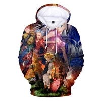 2021 new spring and autumn hooded print cotton 3d hoodie mens and womens pullover hip hop harajuku sweater hoodie
