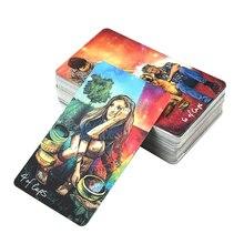 78 pièces/boîte mythique avenir raconter des Images jouer amis Tarot carte Oracle prophétie jeu de société famille fête destin Divination