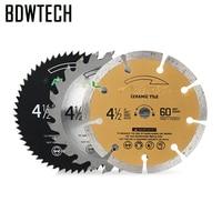 Free shipping 115MM Saw Blade for BDEWTECH BTC02 circular Saw 115x10mm Free Return