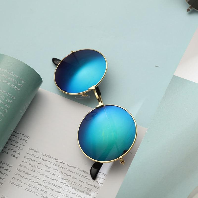 2021 Vintage Metal Men Sunglasses Brand Designer Sun Glasses Women Female Classic Driving Eyewear uv
