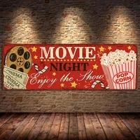 Affiches et imprimes Vintage de cinema  tableau dart mural  peinture sur toile retro  maison  cinema  cinema pour salon  sans cadre