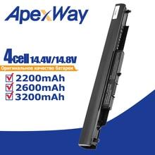 Apexway Batterie Dordinateur Portable HS03 HS04 HSTNN-LB6V HSTNN-LB6U POUR HP 240 245 250 255 G4 PC PORTABLE