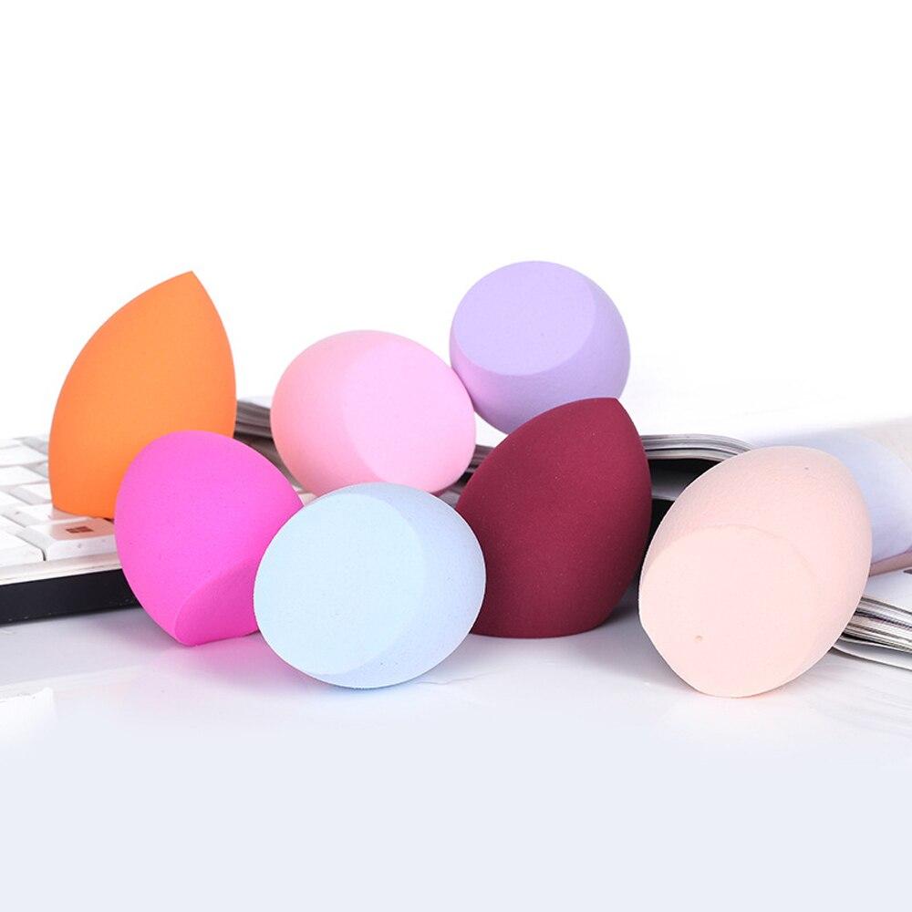 Esponja almofada de ar BB cream puff oblique corte beleza ovo pele úmida e seca esponja