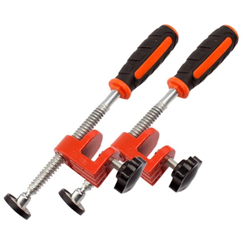 Abrazadera de borde de carpintería de 2 piezas abrazadera F Función de abrazadera rápida abrazadera de fijación de herramienta auxiliar de expansión