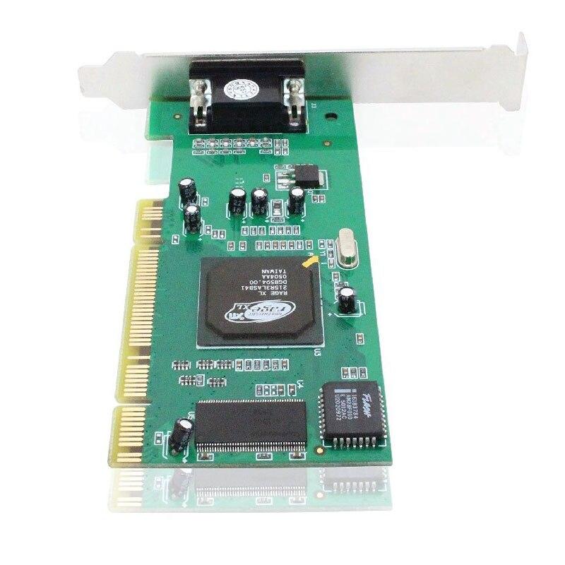 Ordenador de sobremesa, tarjeta gráfica CPI ATI Rage XL, tarjeta de vídeo VGA de 8MB, accesorios para PC, dq-drop