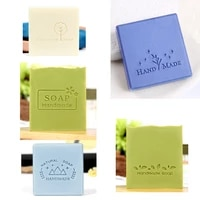 natural handmade letter pattern handmade soap stamp transparent natural imprint stamp for diy making acrylic stamps chapters