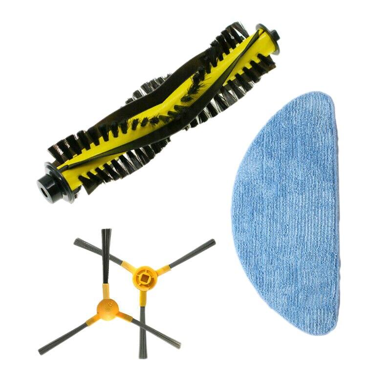 Cepillo principal + paño de fregona + cepillo lateral 2X para accesorios de barrido Neatsvor X500