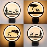 Morden     applique murale LED creative en acrylique  luminaire decoratif dinterieur  ideal pour une chambre a coucher  un salon ou un couloir
