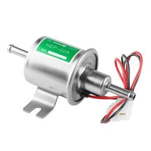 Универсальный 12V HEP-02A топливоперекачивающий насос встроенный электрический низкая Давление топливный насос газ топливный насос