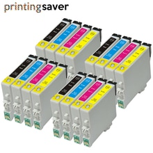 16x Compatible for Epson T0441 T0441 - T0444 For Epson Stylus C64 C66 C68  C84 C84N  C84WN C86 CX3600 CX3650 CX4600 CX6400