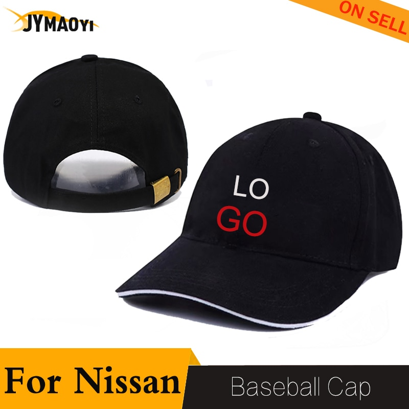 JYMAOYI for Nissan GTR baseball hat cap motorcycle sports sun shade hip hop hat car logo for GTR fashion Outdoor adjustable 2020