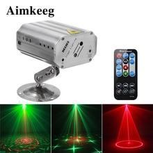 24 Patterns DJ Disco Stage Light Sound Activation Music Rhythm Flash Light Automatic Laser Projector Stage Light Effect