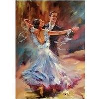 5D bricolage mosaique danse romantique diamant broderie saint valentin cadeau diamant peinture doux amour couture decor maison cadeau YG2493