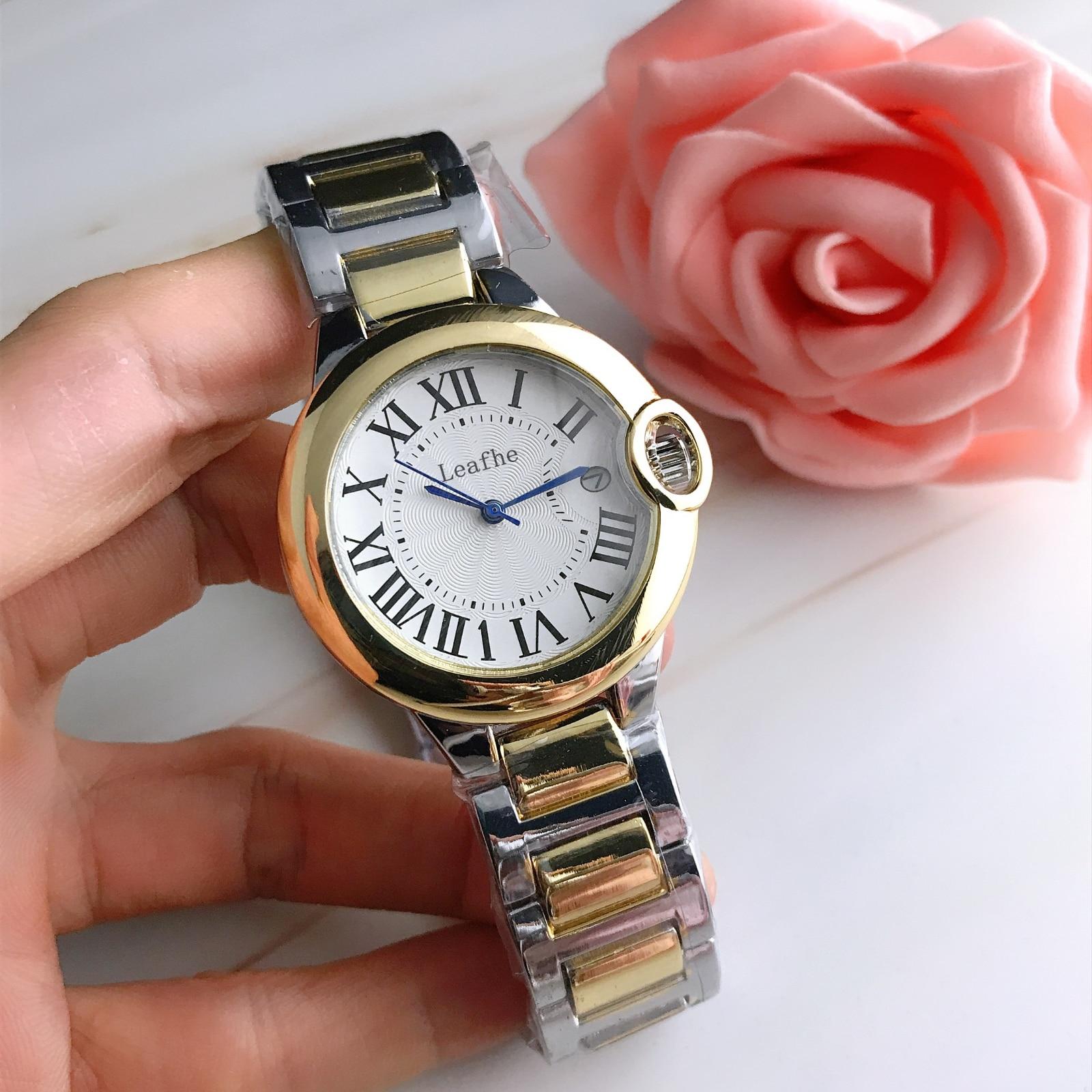 Fashion Silver Gold Stainless Brand Women Watch Quartz Wrist Watches Ladies Girls Famous Female Clock Montre Femme Reloj enlarge