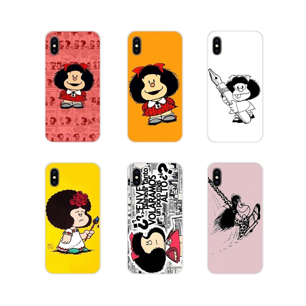 Mafalda, accesorios, carcasas para Samsung Galaxy A3, A5, A7, A9, A8 Star, A6 Plus, 2018, 2015, 2016, 2017