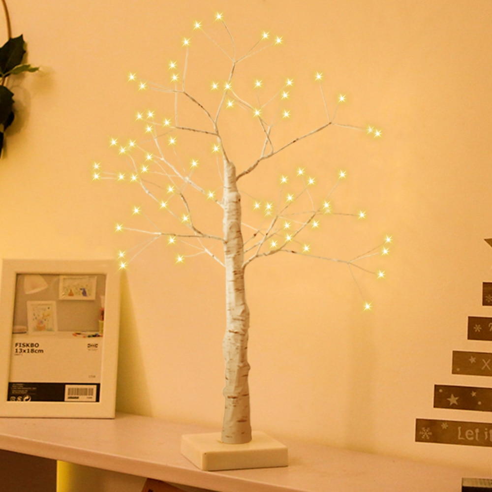 Tree Lighting Illuminated Tree Lights LED Christmas Simulation Tree Lamp Emulate The Branch Shape Lamp Home Holiday Decoration 2018 special offer time limited christmas tree new led christmas lighting yard decoration 1 6m led backdrop lamp h199