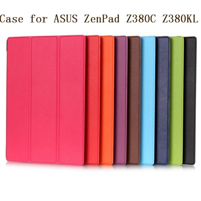 Funda magnética de cuero inteligente con soporte para Asus Zenpad 8,0 Z380...
