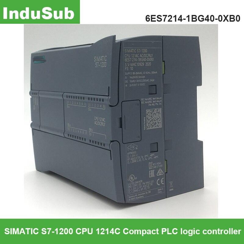 SIMATIC S7-1200 CPU 1214C CPU compacta 6ES7214-1BG40-0XB0 PLC controlador lógico