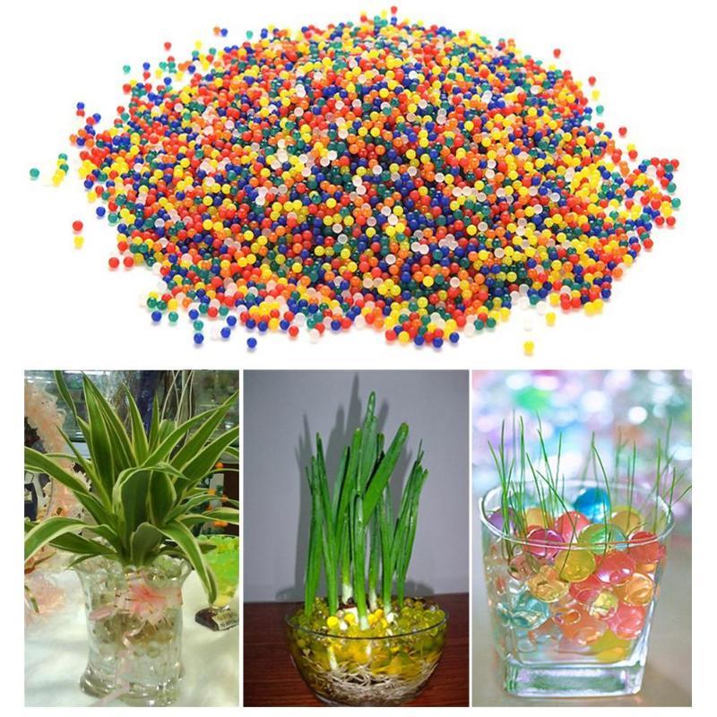 10000 шт нетоксичные Кристальные шарики для воды, разноцветные водопоглощающие пули, детские игрушки для игр, инструменты, шарики, игрушки, аксессуары
