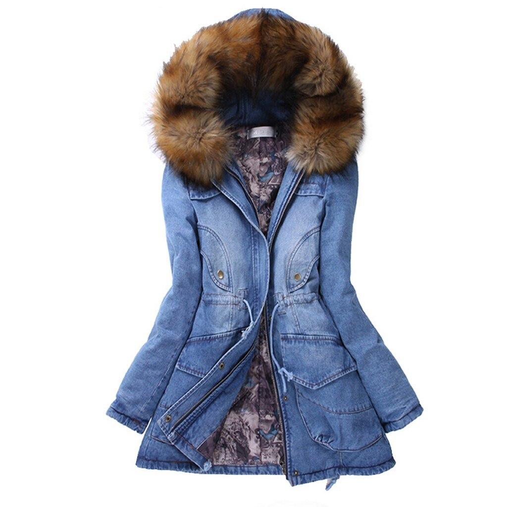 Abrigos de lujo de color liso con capucha para mujer, abrigos de invierno cálidos, ropa de felpa con cremallera de piel con capucha, prendas de vestir, chaquetas gruesas de mezclilla para mujer