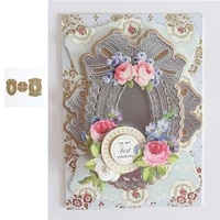 hot sale 3d lace pattern background new metal cutting dies 2021 for scrapbook diary decoration embossing template greeting card