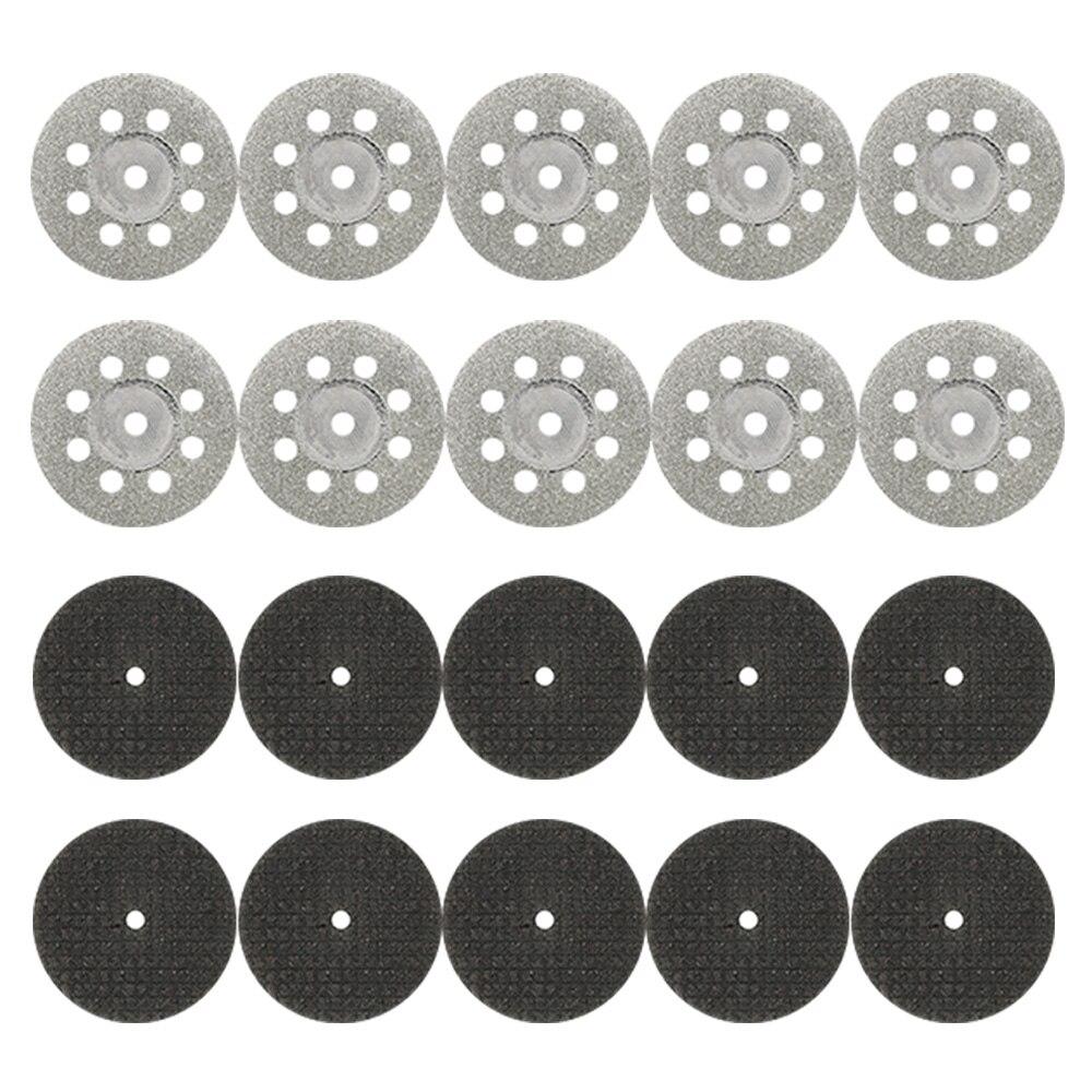 31 Uds ruedas de corte de diamante HSS hoja de sierra circular - Herramientas abrasivas - foto 3