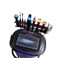 2021 hot beauty salon equipment 9 in 1 korea aquaskin smart multifunction facial beauty machine