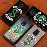 riverdale southside for xiaomi redmi note10 10s 9t 9s 9 8t 8 7 6 5a 5 4 4x prime pro max black phone case