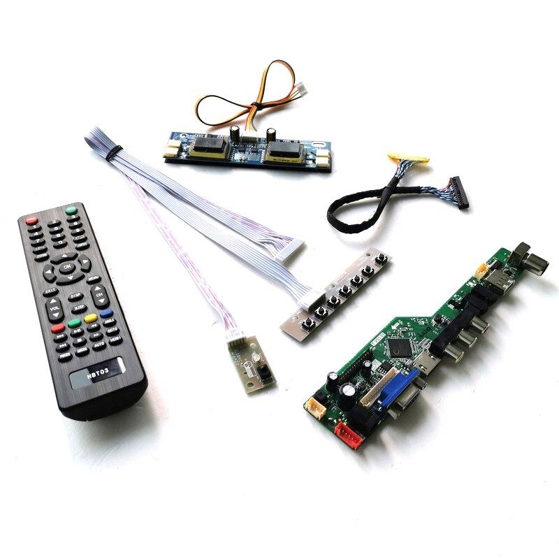 Fit HSD190MGW1/HT190WG1 LVDS 30-Pin PC المكتبي 4-CCFL 19