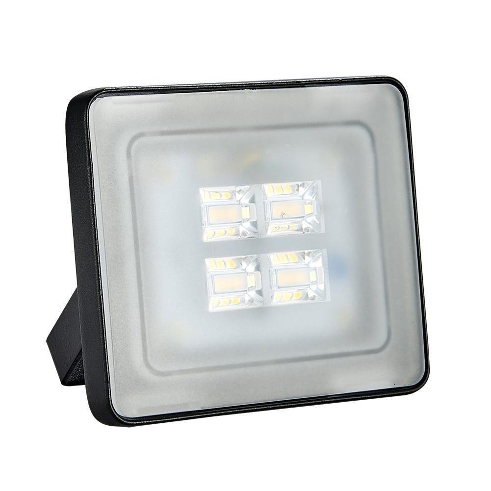 Reflector Led de 10W Ultra delgado proyectores de luz LED al aire libre IP65 impermeable AC 200-240V SMD Reflector Led blanco cálido